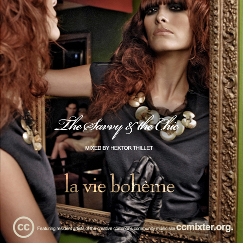 "Official Album Cover of ""The Savvy & the Chic Vol.2: La Vie Bohème. Artwork donated under a nonprofit license by Leonardo Thillet of IMAGEN Fashion Magazine of Puerto Rico."